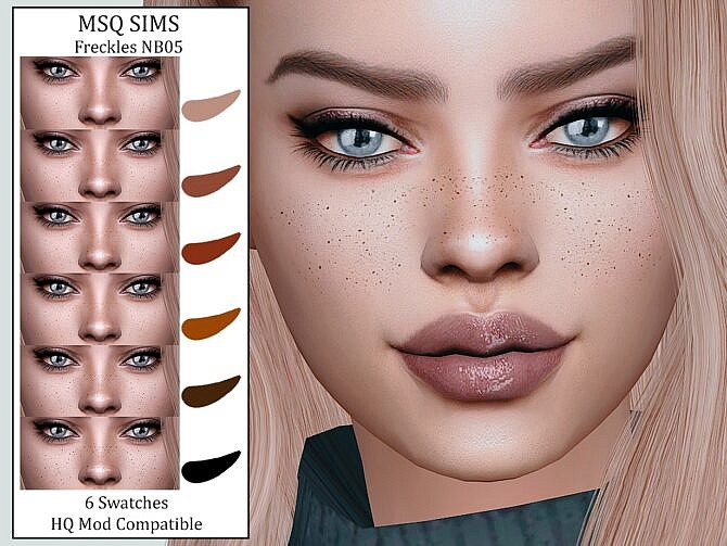 Sims 4 Freckles NB05 at MSQ Sims