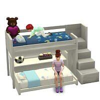 Functional Toddler Bunk Bed Sims 4