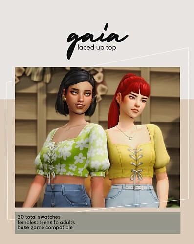 Gaia Sims 4 Top