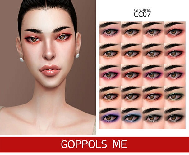 Gpme Gold Sims 4 Eyeshadow Cc 07