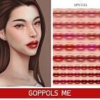 Gpme Gold Sims 4 Lipstick Cc01