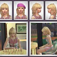 Gail Sims 4 Hair Female