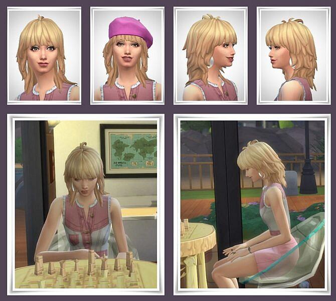 Sims 4 Gail Hair at Birksches Sims Blog