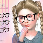 Geek Child Sims 4 Glasses