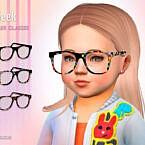 Geek Toddler Sims 4 Glasses