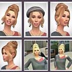 Georgia Sims 4 Hair