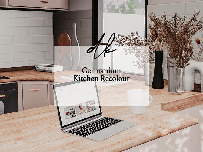 Sims 4 Germanium Kitchen Recolour at DK SIMS