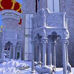 Giants Columns Sculptures Sims 4