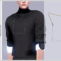 Glasses With Neck Straps Sims 4
