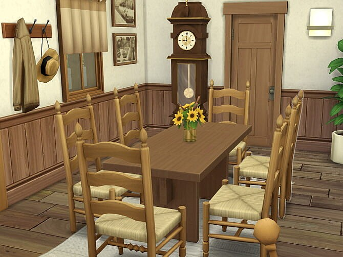 Sims 4 German Half Timbered House by Flubs79 at TSR