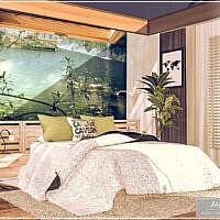 Hanae Sims 4 Bedroom