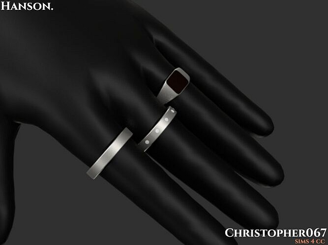 Hanson Sims 4 Rings