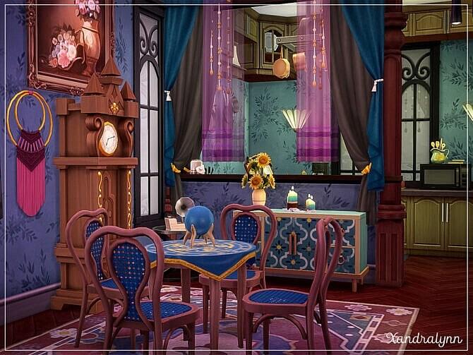 Sims 4 Haunted Manor by Xandralynn at TSR