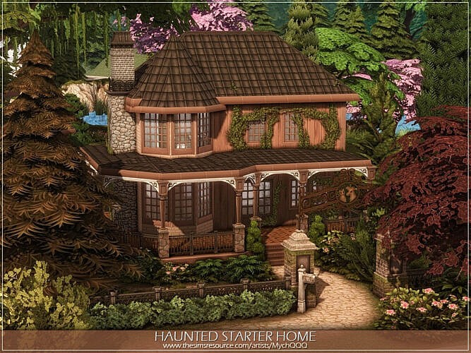 Haunted Starter Sims 4 Home