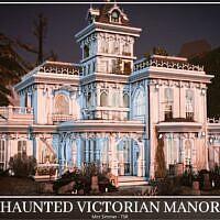 Haunted Victorian Sims 4 Manor