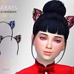 Headband Sims 4 Cat Ears Child