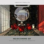 Helios Sims 4 Dining Room Set