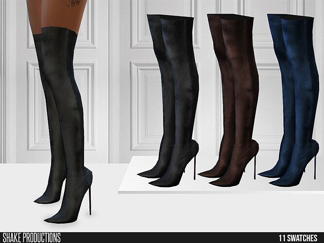 High Heels Sims 4 Boots 625