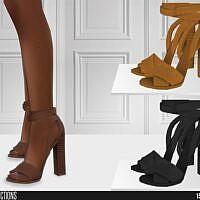 High Heels Sims 4 Sandals 624