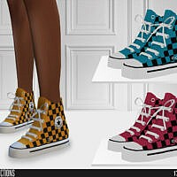 High Top Sims 4 Sneakers 628