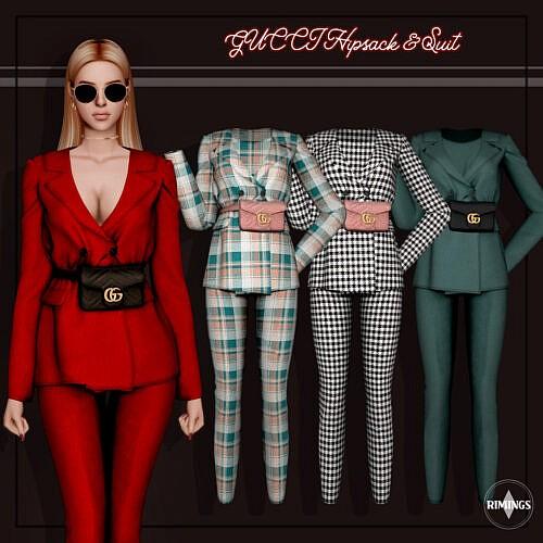 Hipsack Suit Sims 4