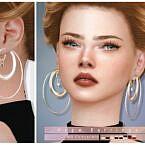 Hope Sims 4 Earrings