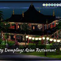 Humpty Dumplings Sims 4 Asian Restaurant
