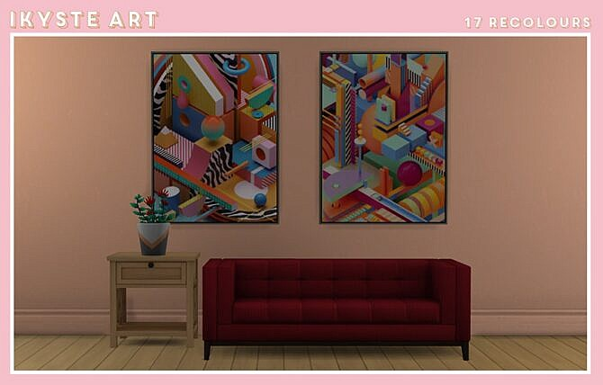 Ikyste Sims 4 Art