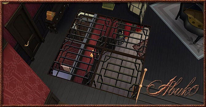 Iron Floor Sims 4