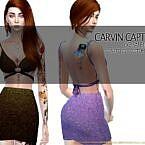 Isabella Sims 4 Skirt