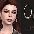Janna Sims 4 Earrings
