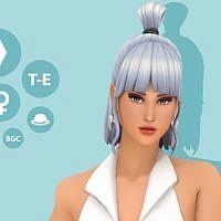 Jessie Maxis Match Sims 4 Hair