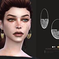 Jezabel Sims 4 Earrings By Sugar Owl