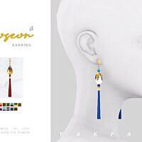 Joseon Sims 4 Earrings