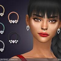 Joy Sims 4 Septum Ring