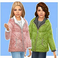 Jule Winter Sims 4 Jacket Girls