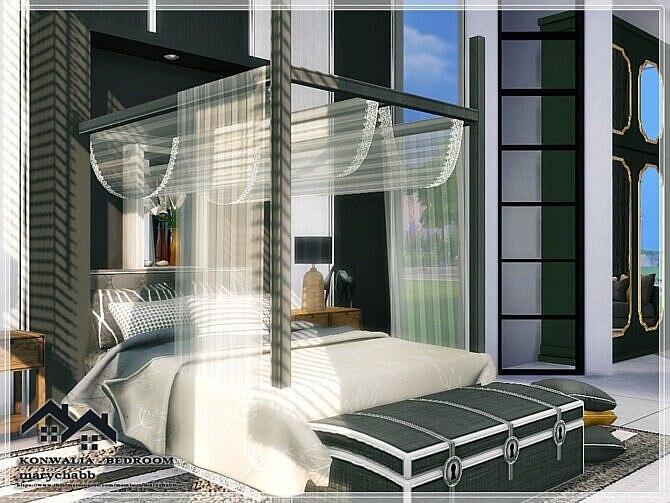 Sims 4 KONWALIA BEDROOM by marychabb at TSR