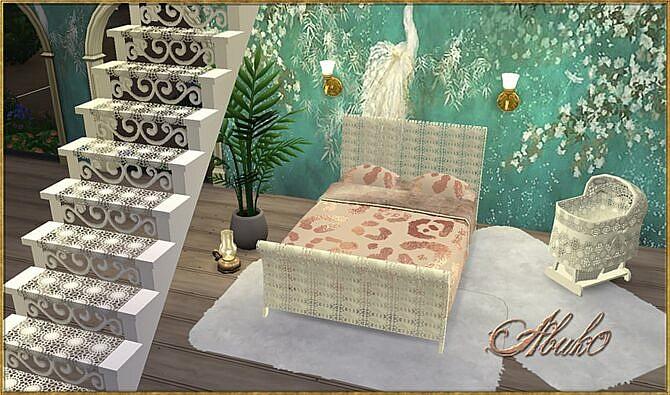 Kanavu Beds Stairs Sims 4
