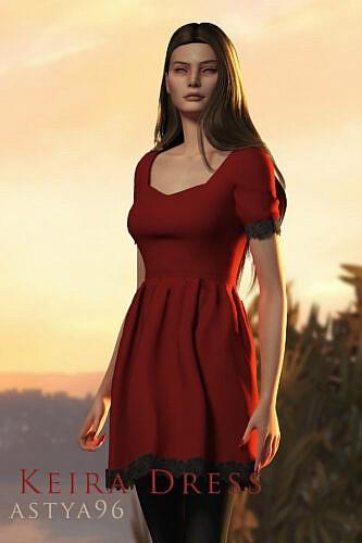 Keira Sims 4 Dress