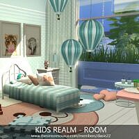 Kids Realm Sims 4 Bedroom