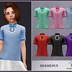 Kids Sims 4 Blouse Rpl79