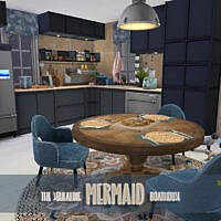 Kitchen Sims 4 Mermaid Boathouse