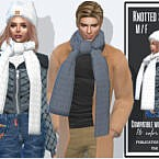 Knotted Sims 4 Scarf