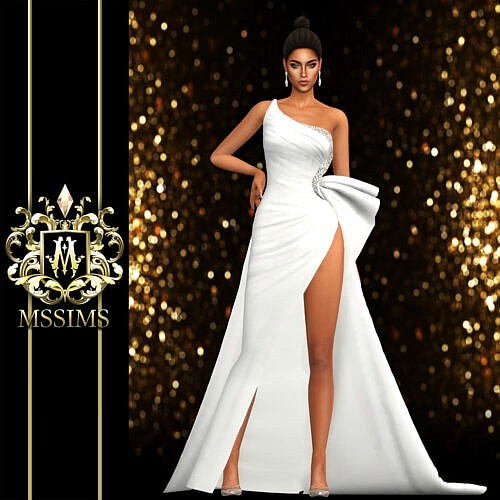 Lena Gown Sims 4