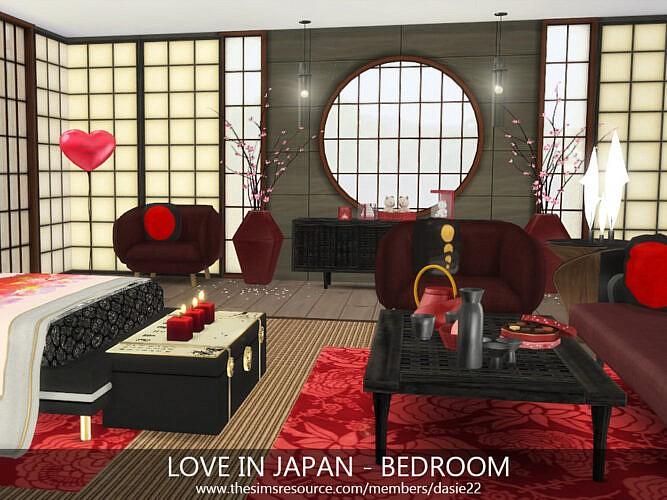 Love In Japan Bedroom By Dasie2