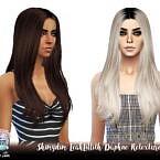 Leahlillith Daphne Sims 4 Hair Retexture