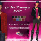 Leather Motorcycle Sims 4 Jacket