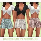 Lightweight Pj Sims 4 Shorts 04