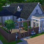 Little Rose Garden Sims 4 House