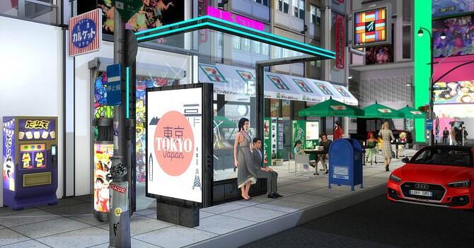 Little Tokyo Sims 4